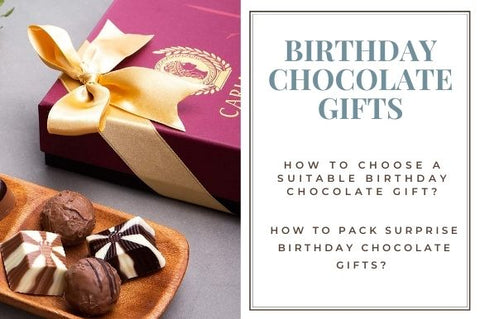 How to Pack Surprise Birthday Chocolate Gifts