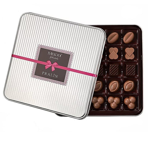 Mother's Day Assorted Gourmet Chocolates Metal Gift Box