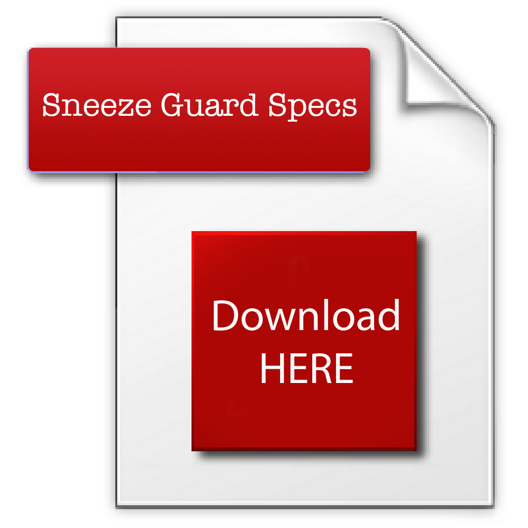 BD16DIPHV Sneeze Guard Specs