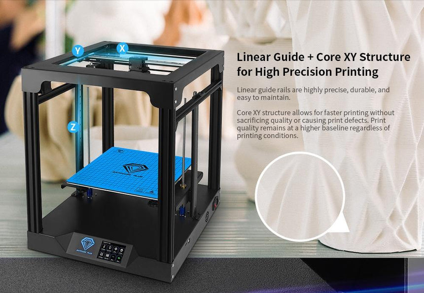 TwoTrees Sapphire Plus Large COREXY 3D Printer - ideagen3D