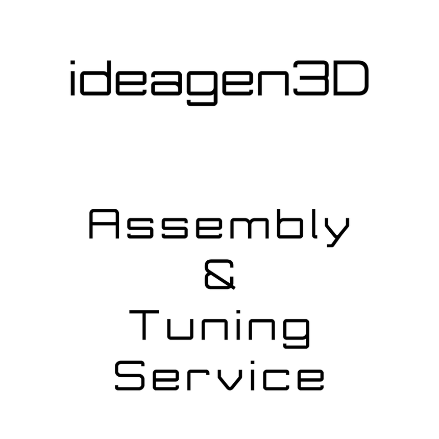 3D Printer Assembly, Tuning, & Verification-ideagen3D-Brisbane-Australia-ideagen3D