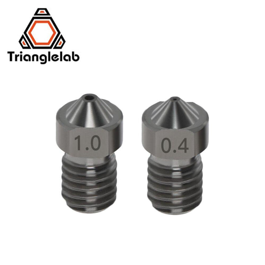 Hardened Carbon Steel Nozzle 0.2mm-1.0mm (High Precision Machined) - ideagen3D