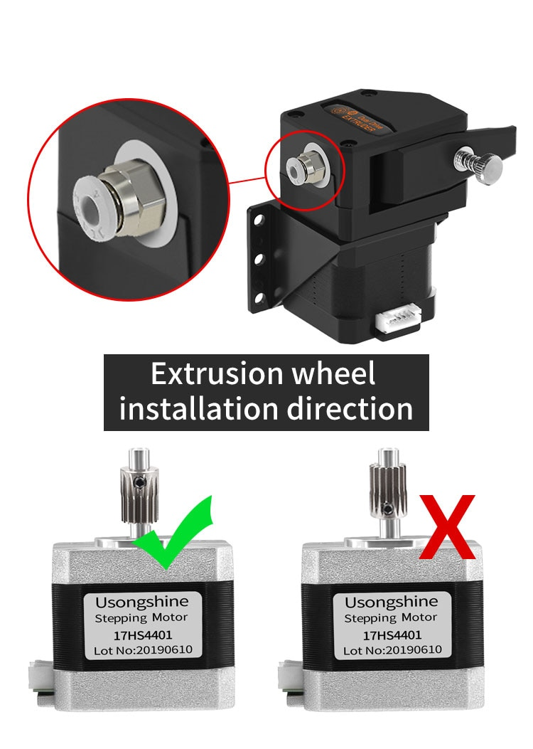BMG Extruder Dual Drive Upgrade High performance for 3D printer-Upgrades-ideagen3D