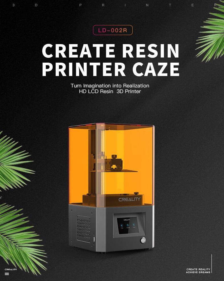Creality LD-002R SLA Resin 3D Printer - ideagen3D
