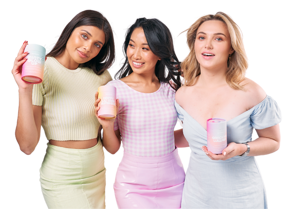 three-young-female-holding-saymegrace-organic-beauty-and-skincare-tea