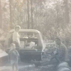Back in the day...out in the bush looking for good bee sites