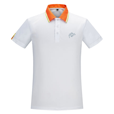 SNOWMAN RACE WHITE POLO