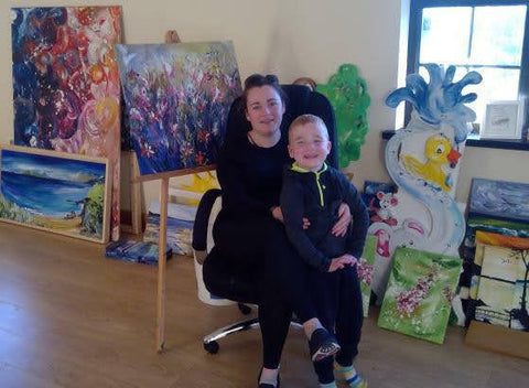 Feilin Quinn Campbell profile picture, contemporary fine artists in Ardboe, Co. Tyrone
