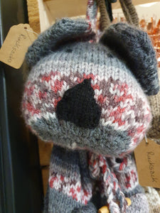 Knitted Rucksack by Sue
