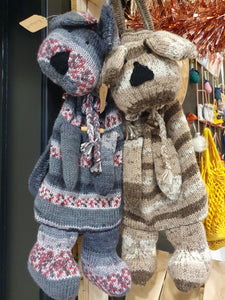 Handknitted Rucksack by Sue - FAB products