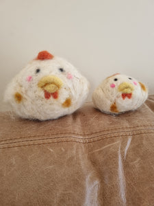 Mother & Chick by Sue's Arts Textiles