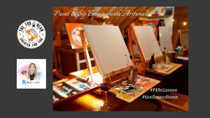 Paint & Sip Evening with Artfunkle