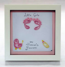 Load image into Gallery viewer, Baby Girl Frame - Cookie's Crafts