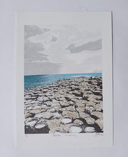 Load image into Gallery viewer, Fionnuala O'Neill Screenprinter - Giant's Causeway
