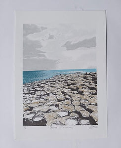 Fionnuala O'Neill Screenprinter - Giant's Causeway