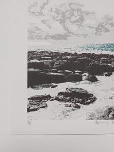 Herring Pond Screenprint - Fionnuala O'Neill