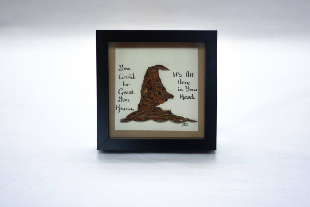 Sorting Hat Frame - Cookie's Crafts