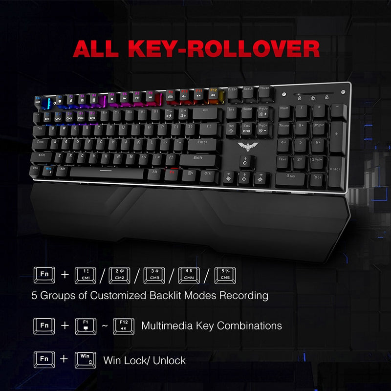 Havit Gaming Mechanical Keyboard & Mouse Keyboard & Mouse - Blck Box Tech