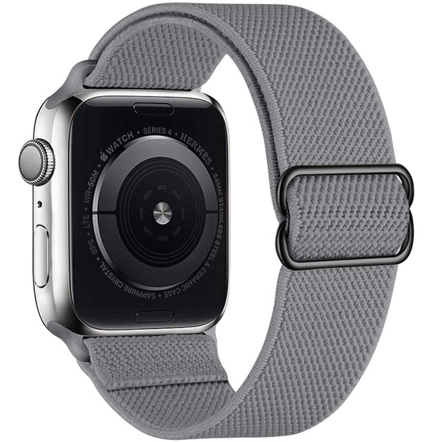 Hellary Adjustable Elastic Strap for Apple Watch Straps/Bands - Blck Box Tech