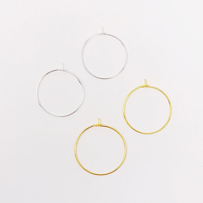 Hoop Earrings, 1