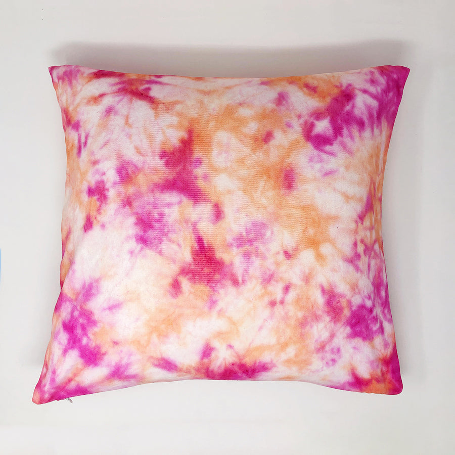 Dyeable Cotton Throw Pillow Cover