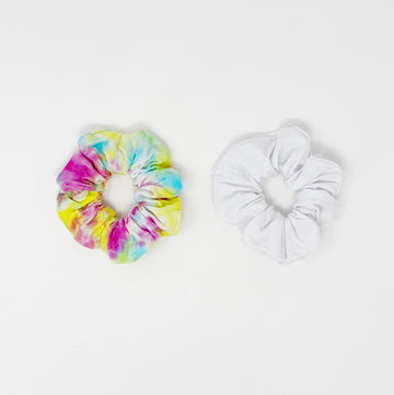Dyeable Cotton Hair Scrunchie