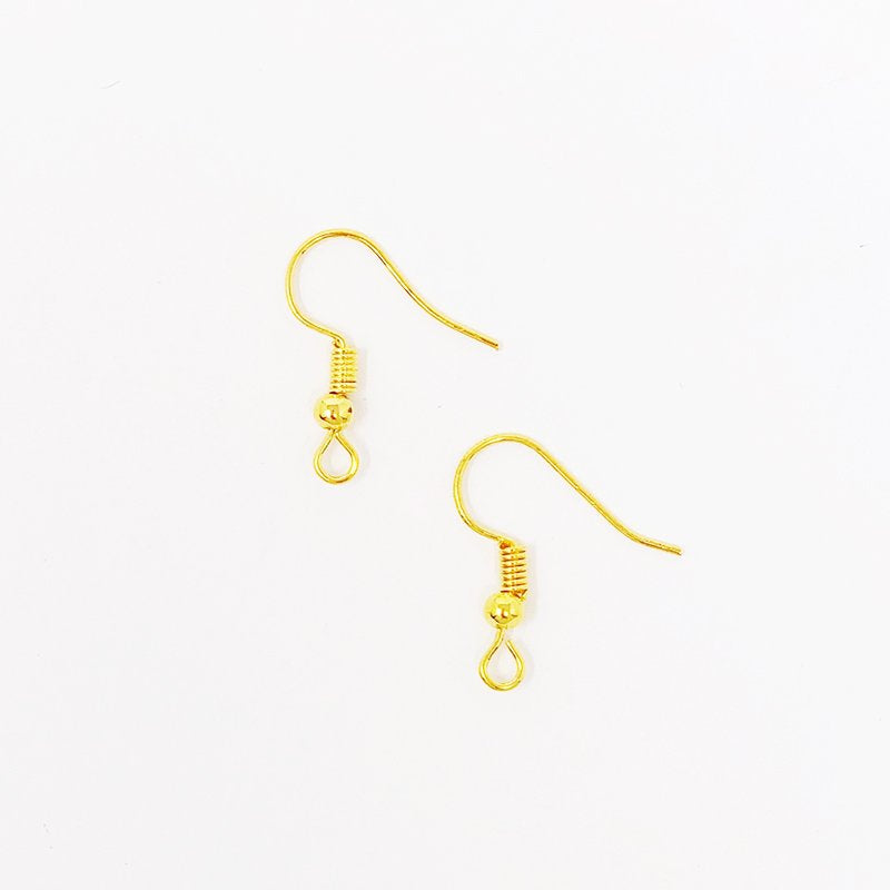 Gold-Tone Earring Hooks (6 pcs)