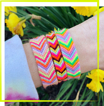 6/13 - Chevron Friendship Bracelet Workshop