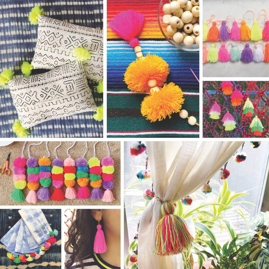 How to Make Pom Poms & Tassels Booklet