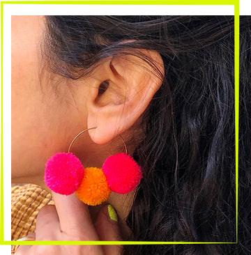 5/2 - Pom Pom Hoop Earring Workshop