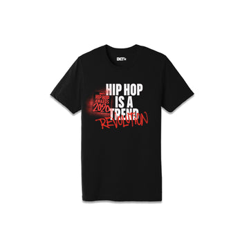 Hip Hop Is A Revolution Black Tee