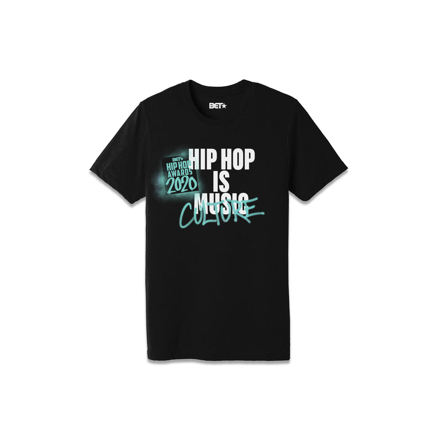 Hip Hop is Culture Black Tee
