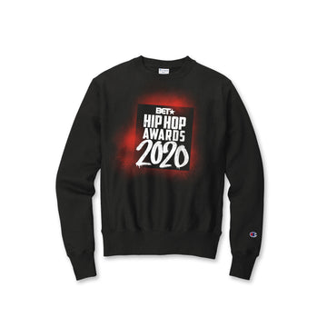 Hip Hop Awards 2020 Red Grafitti Champion Crewneck