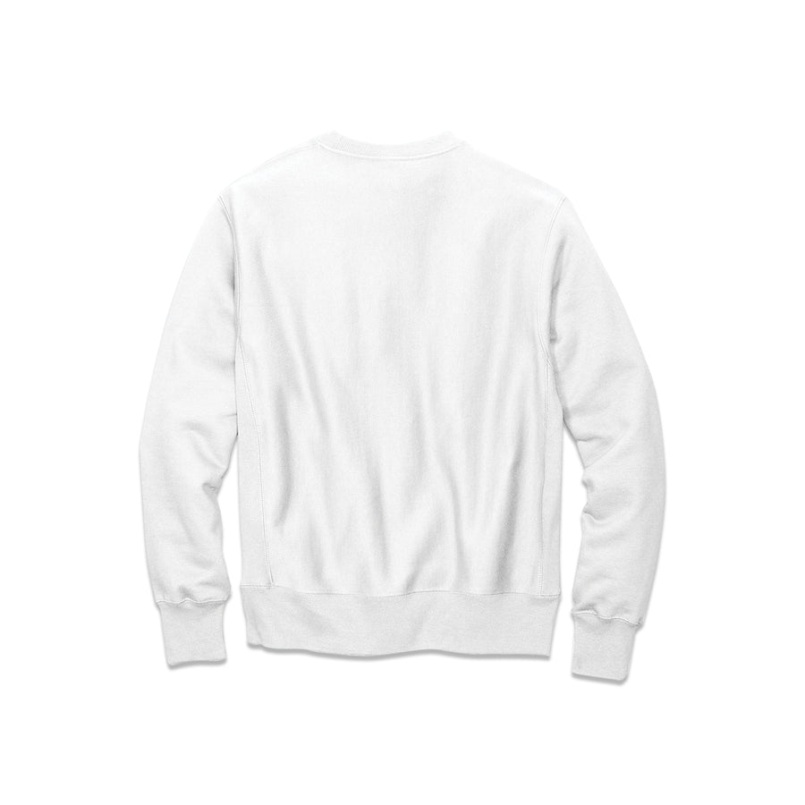 Hip Hop Is Powered By The People White Champion Crewneck