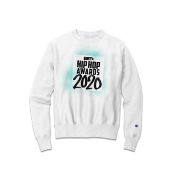 Hip Hop Awards 2020 Green Grafitti Champion Crewneck