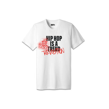 Hip Hop Is A Revolution White Tee
