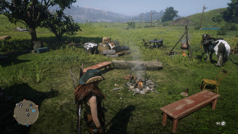 Red Dead Online camp