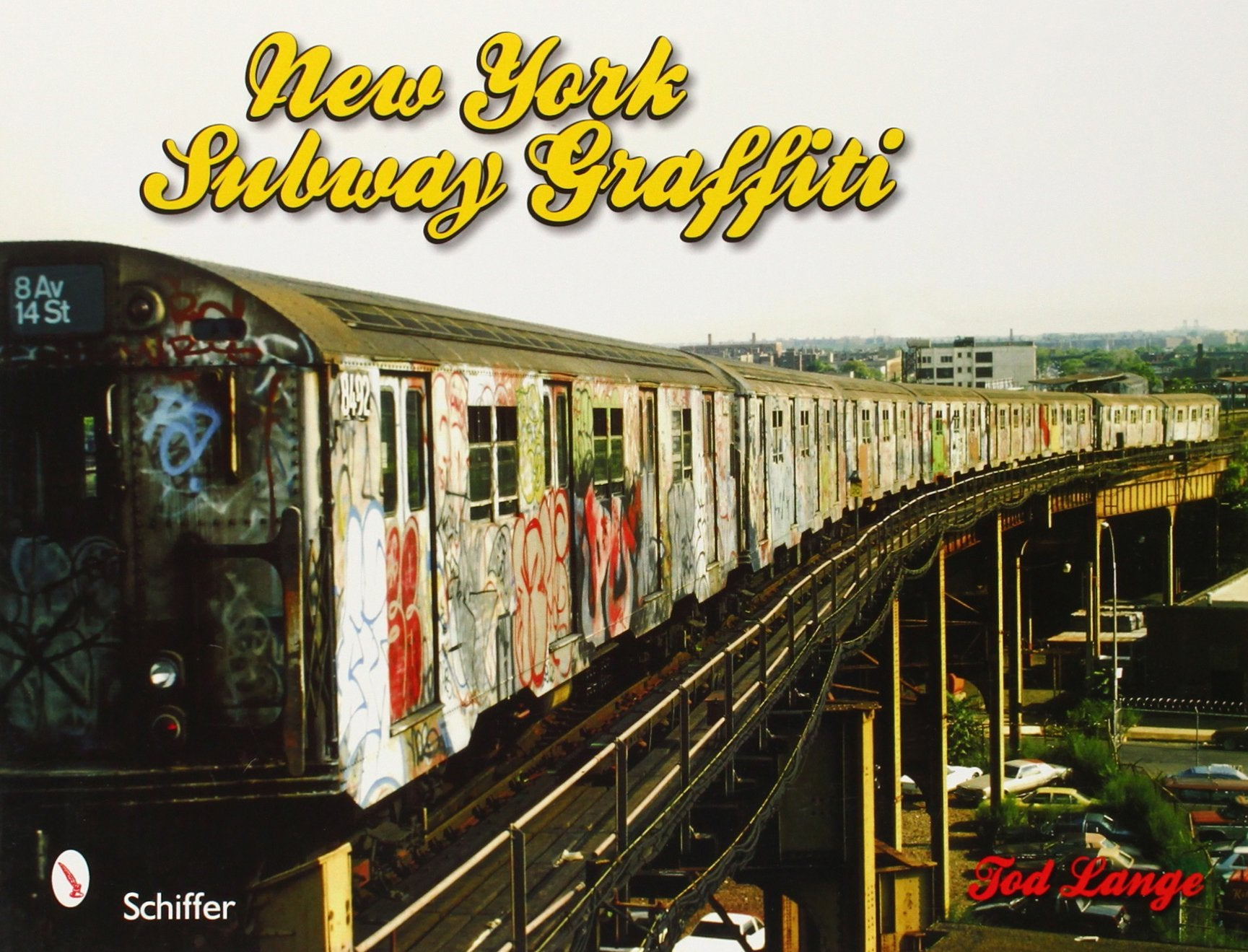 Tod Lange│New York Subway Graffiti