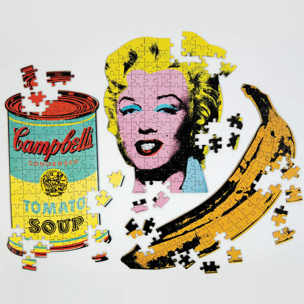 Andy Warhol│Mini Shaped Puzzle