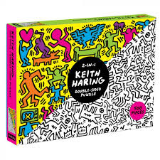 Keith Haring Double-Sided Poster