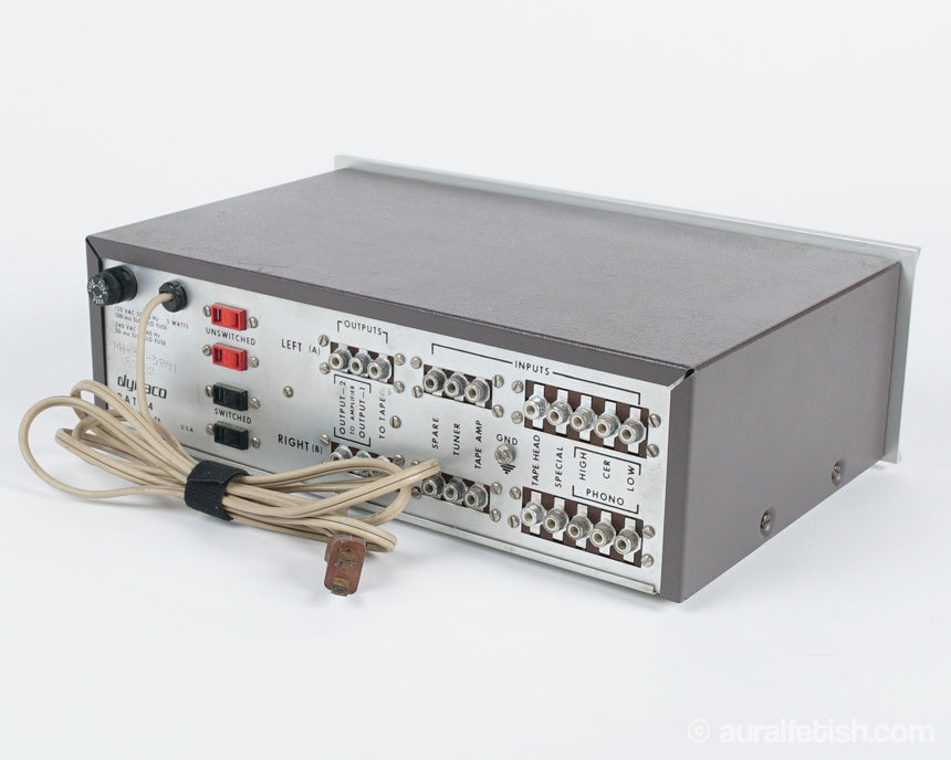 DYNACO PAT-4 // SOLID STATE STEREO PREAMPLIFIER