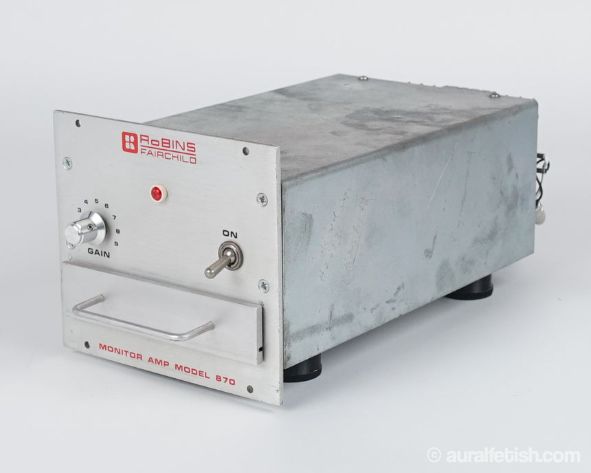 FAIRCHILD 870 // SOLID STATE MONOBLOCK AMPLIFIERS