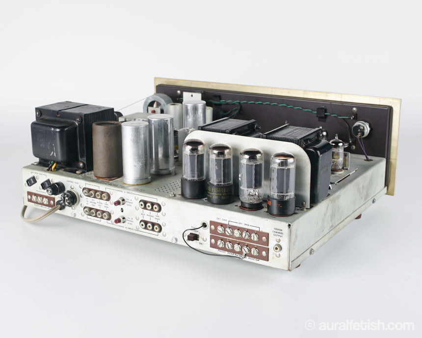 FISHER 500B // TUBE RECEIVER