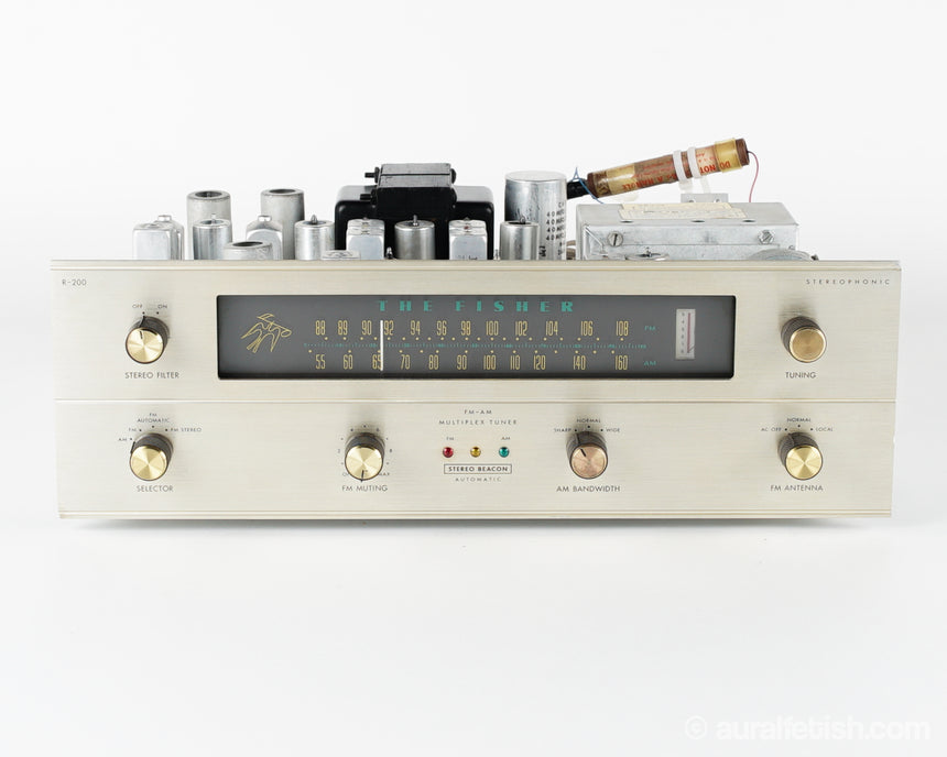 FISHER R-200 // TUBE TUNER