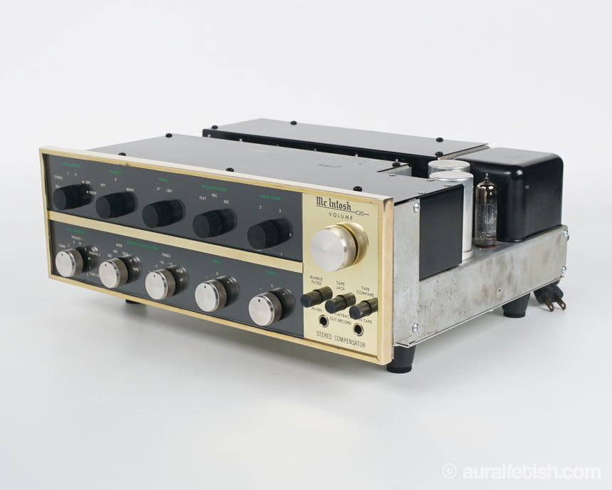 MCINTOSH C20 GOLD BAR // TUBE PREAMPLIFIER