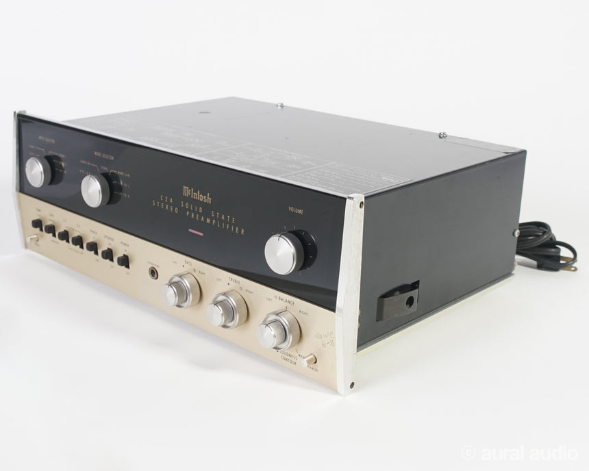 McIntosh C24 // Solid State Stereo Preamplifier