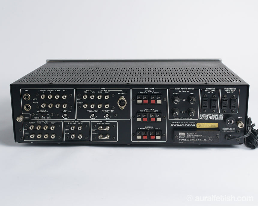 Sansui AU-9500 // Integrated Amplifier