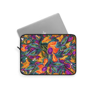 Retro Floral Laptop Sleeve