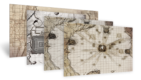 [Cloth Maps] The Skies of Axia Set