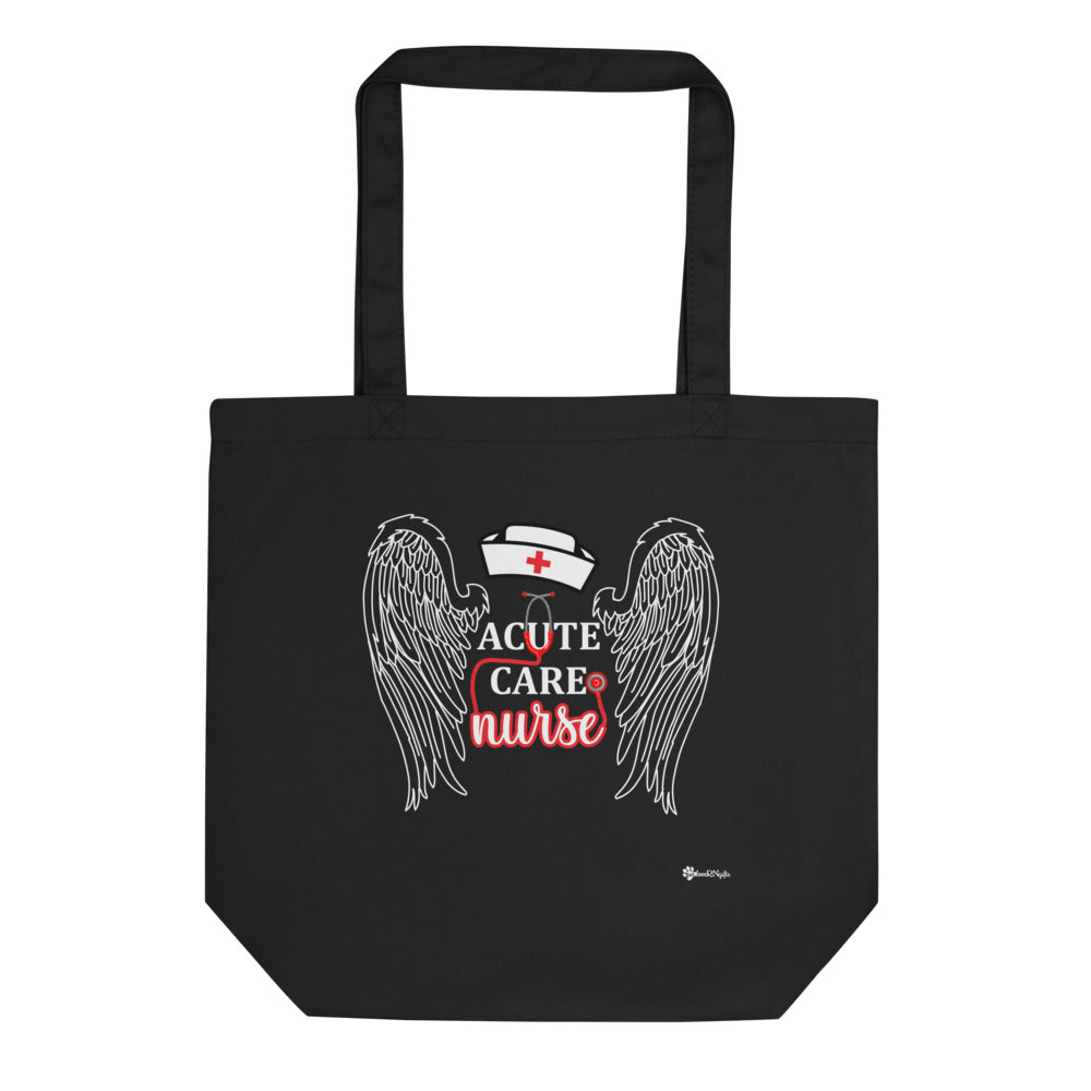 Acute Care Nurse Organic Tote Bag